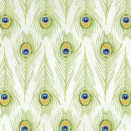 Exotic Peacock Feather Rows Quilt Fabrics From Www Equilter Com