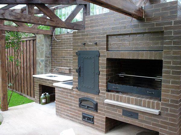 сауны летние кухни с барбекю мангалом проекты фото