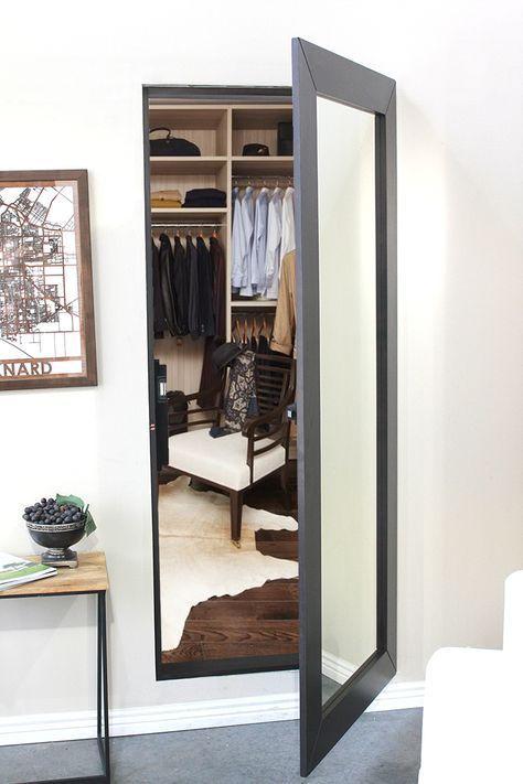 Photo of Secret Mirror Door – Buy Now – Secure & Hidden   The Hidden Door Store