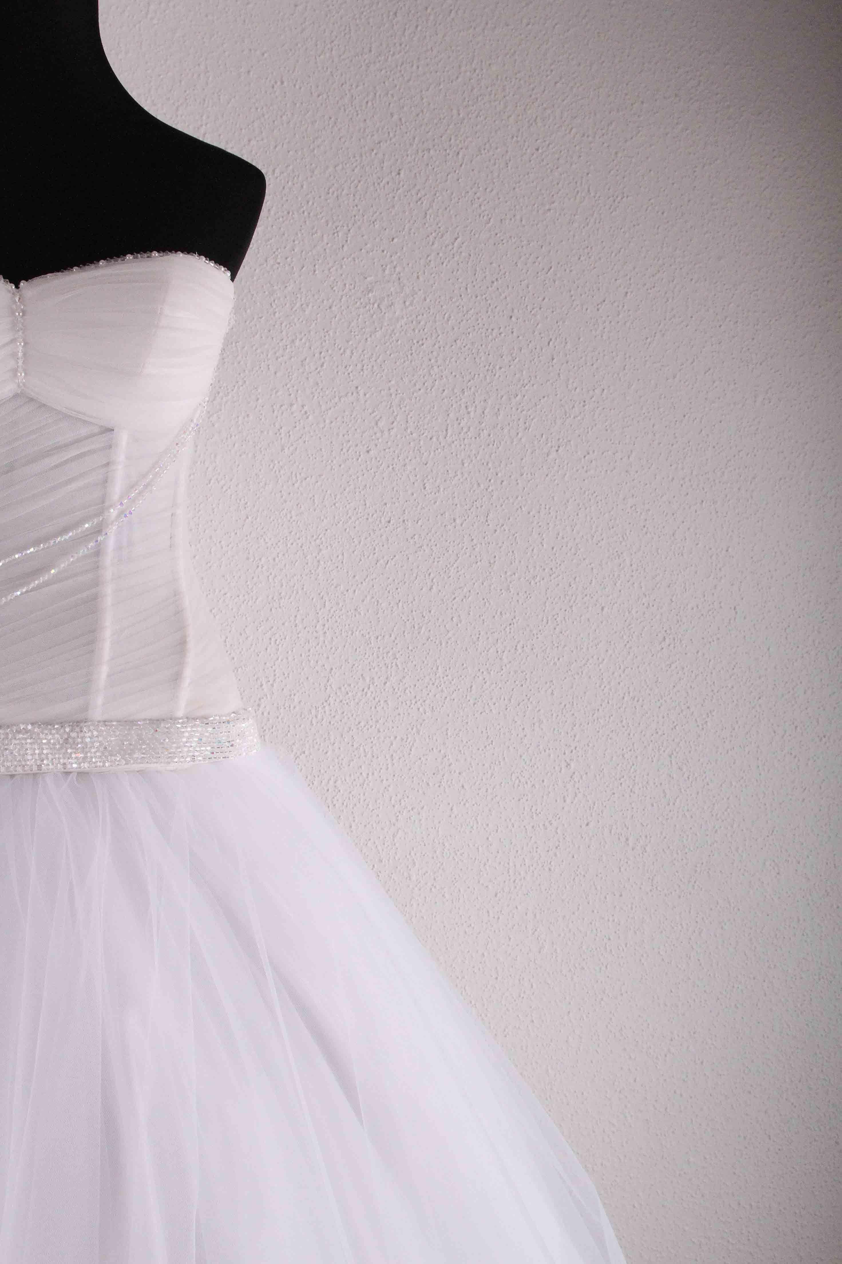 Exclusive wedding gowns of designer victoria falkovich photo