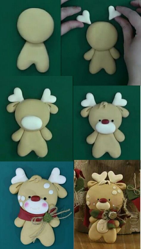 Photo of Trendy Craft Christmas Ornaments Polymer Clay Ideas