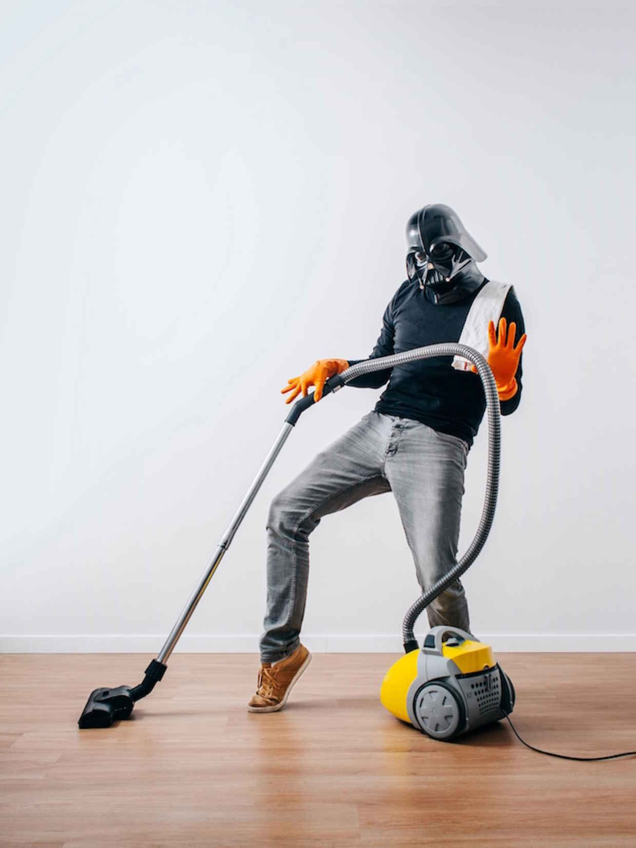 Funny Photo Series Imagines Darth Vader Dealing with the Struggles of Every Day Life - BlazePress