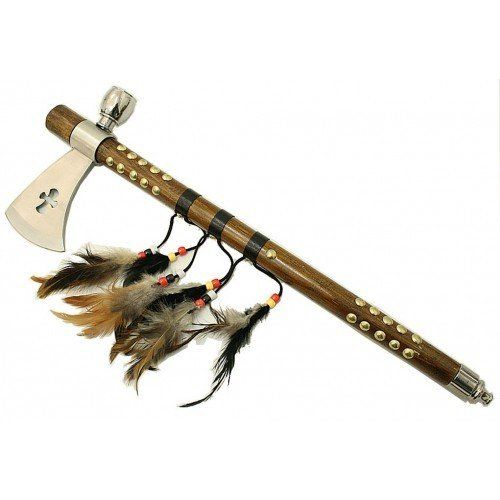 19 CROSS SHAPE INDIAN AXE FEATHER >>> Visit the image link