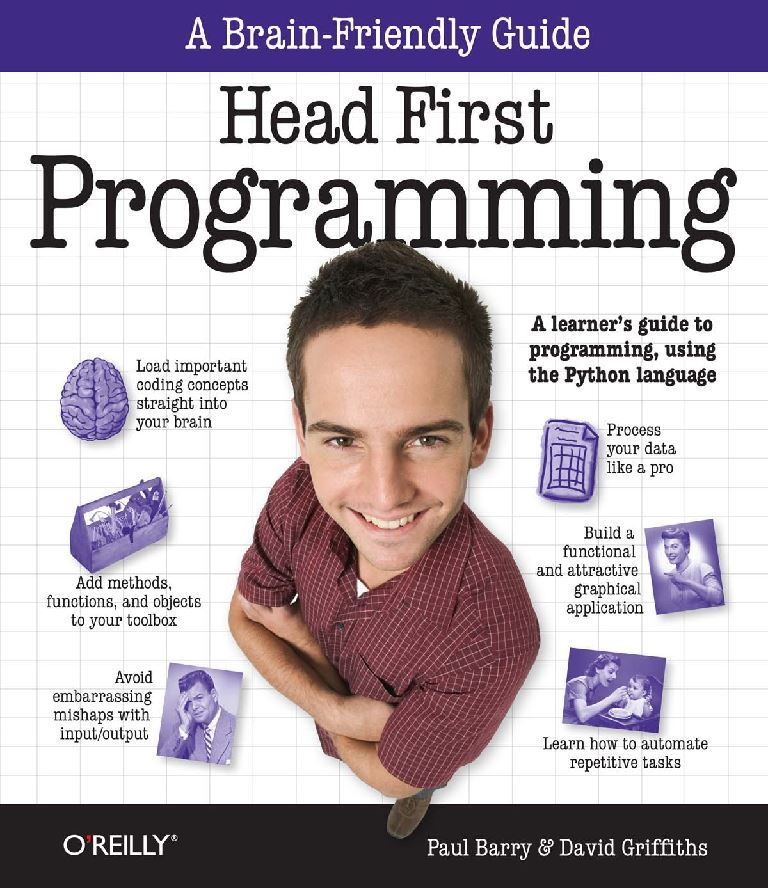 Head first programming a learners guide to programming using the head first programming a learners guide to programming using the python language fandeluxe Image collections