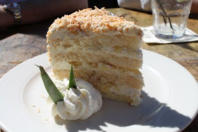 Clutzy Cooking: Tommy Bahama's Pina Colada Cake: Evidence that Tommy does Everything with Flair