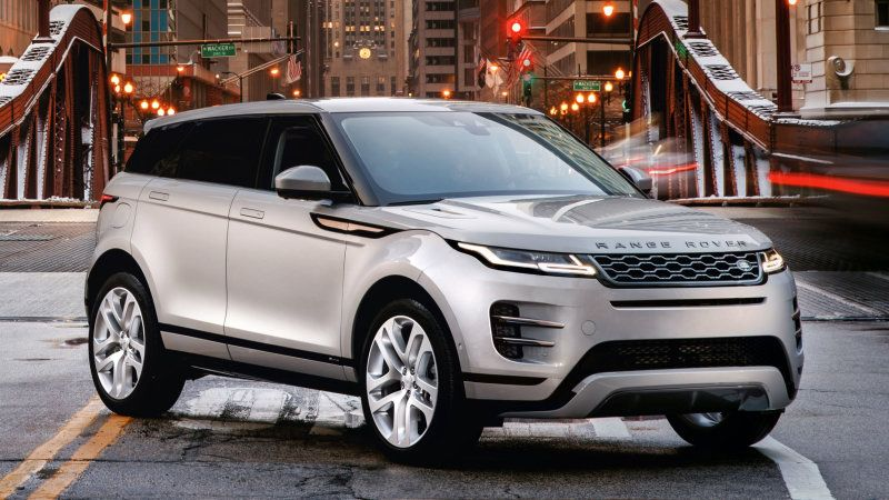 2020 Land Rover Range Rover Evoque pricing announced