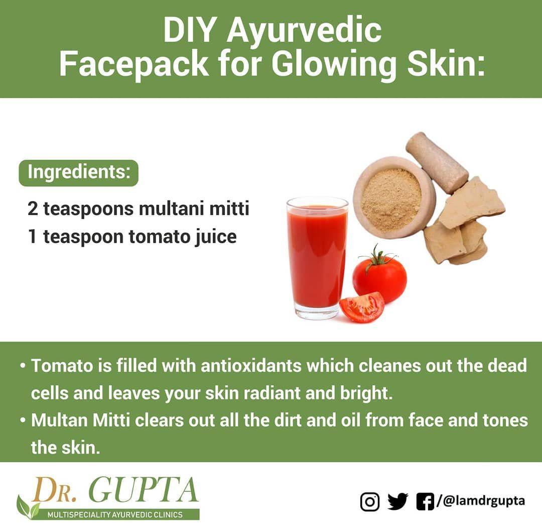 DIY Ayurvedic Facepack for glowing skin in 10  Glowing skin