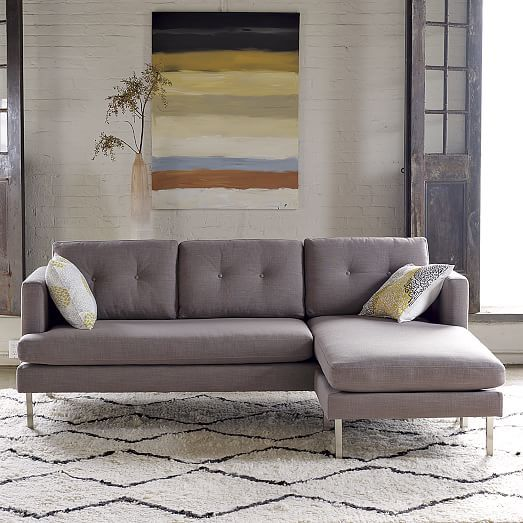 Liking For A Small Sofa With A Chaise Jackson 2 Piece Chaise