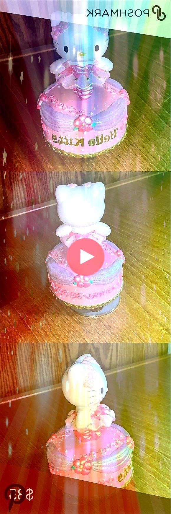 vintage Hello Kitty rotating music box In good condition Probably bought in 2001 Hello Kitt Sanrio vintage Hello Kitty rotating music box In good condition Probably bough...