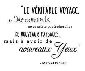 Vinilo adhesivo Proust - 60x85