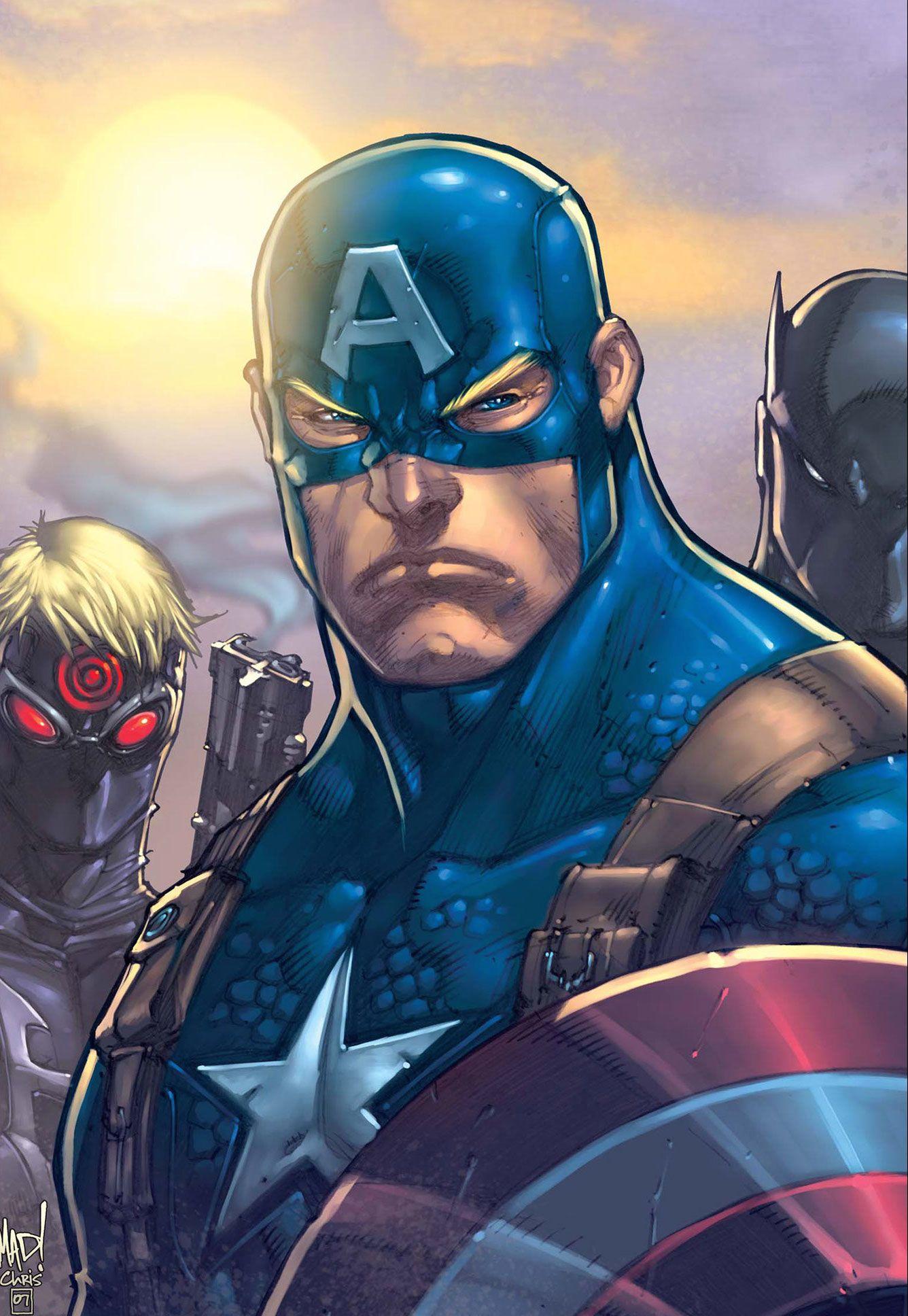 Captain America (Ultimates 3) by Joe Madureira