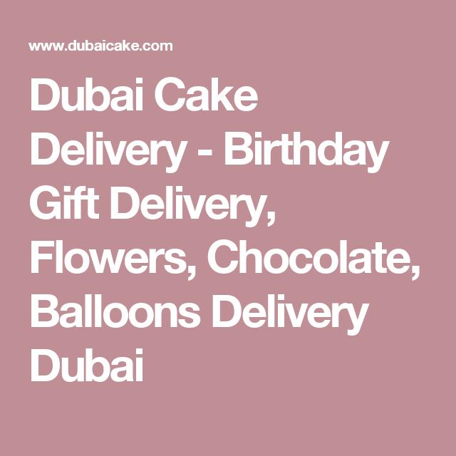 Dubai Cake Delivery