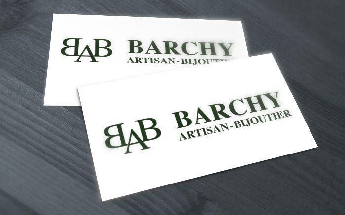 Carte De Visite Joaillier Barchy