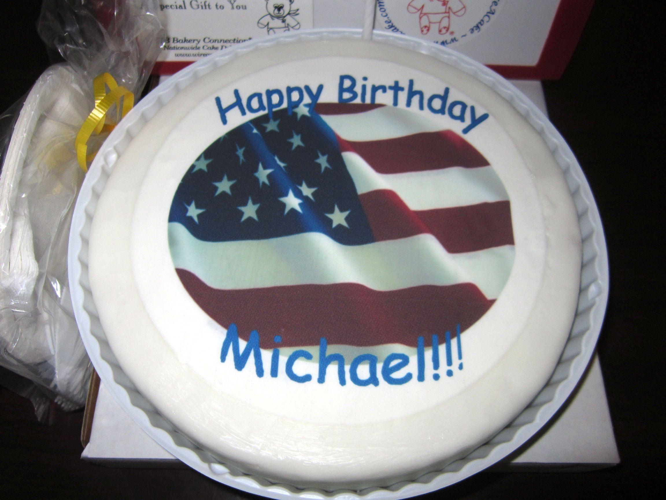 Happy Birthday Cake Destination Fob Walton Camp Nathan Smith