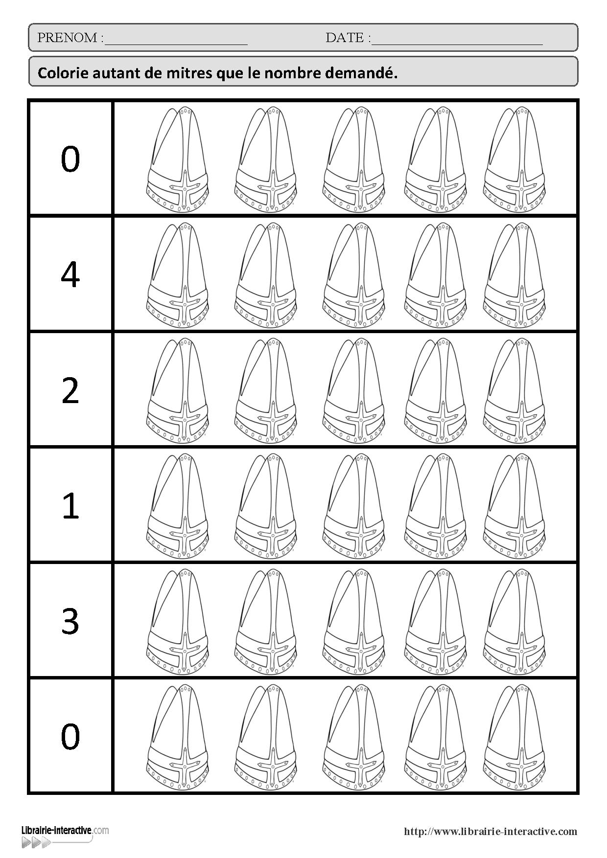 21 fiches d exercices math matiques pour la maternelle ps ms gs autour de la th matique de - Exercice gs a imprimer ...