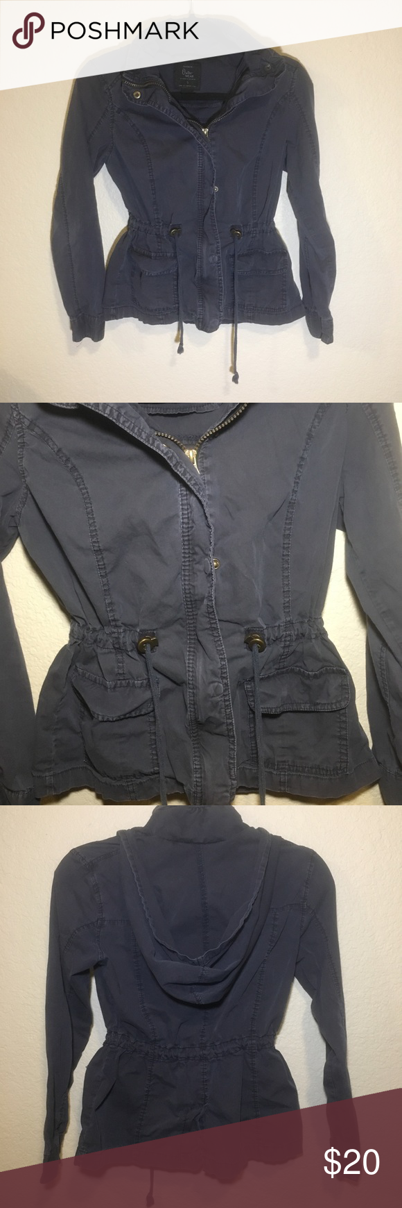 Cotton On Utility Outerwear Navy Jacket Pre Owned Still In Great Condition Please Check Pictures Details Cotton On Utility Navy Jacket Outerwear Jackets [ 1740 x 580 Pixel ]