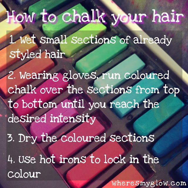 Best 25 Hair Chalk Ideas On Pinterest Diy Hair Chalk