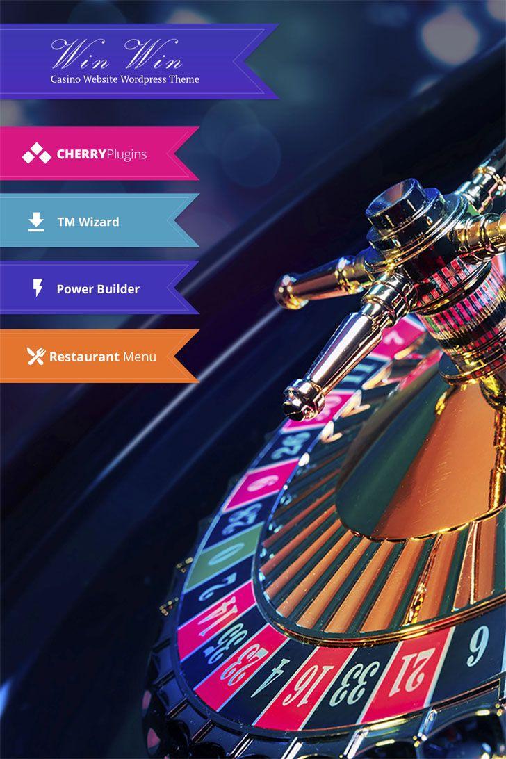 WinWin Casino Website WordPress Theme (With images