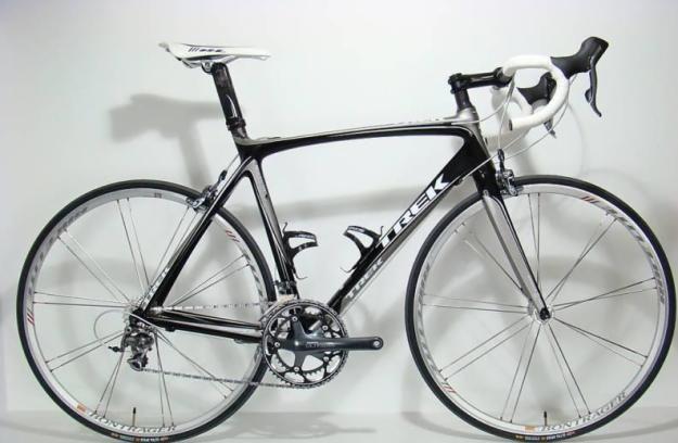 2009 Trek Madone 5 2 Pro Carbon Fiber Road Bike 58cm Trek Road Bikes Trek Madone Bike