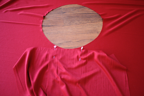 dbbc1ac728e So You Think You re Crafty  Little Red Infinity Dress Tutorial