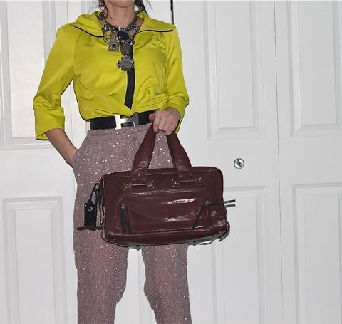 Chloe Brown Leather Bag (www.Lenchylux.com)