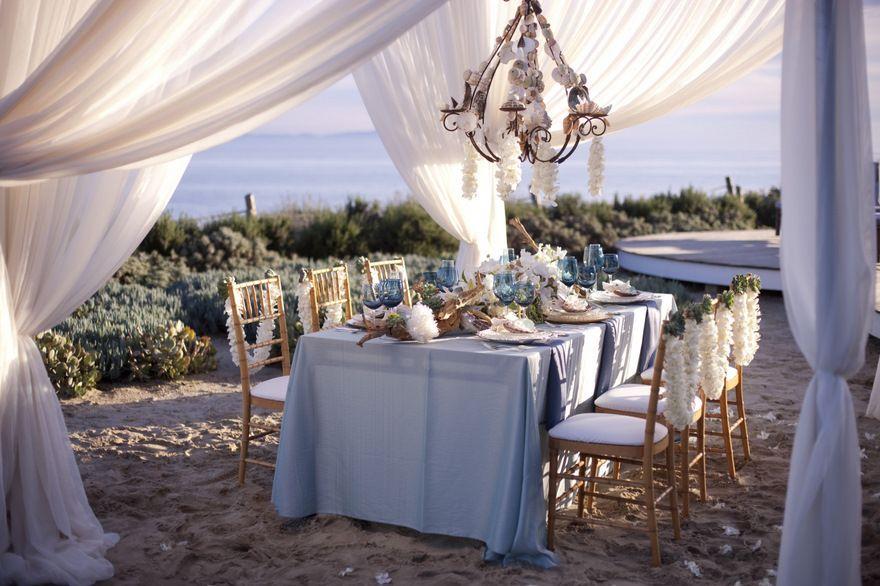 Beach Wedding Reception Elegance Lbps Photo Tim Halberg Weddings
