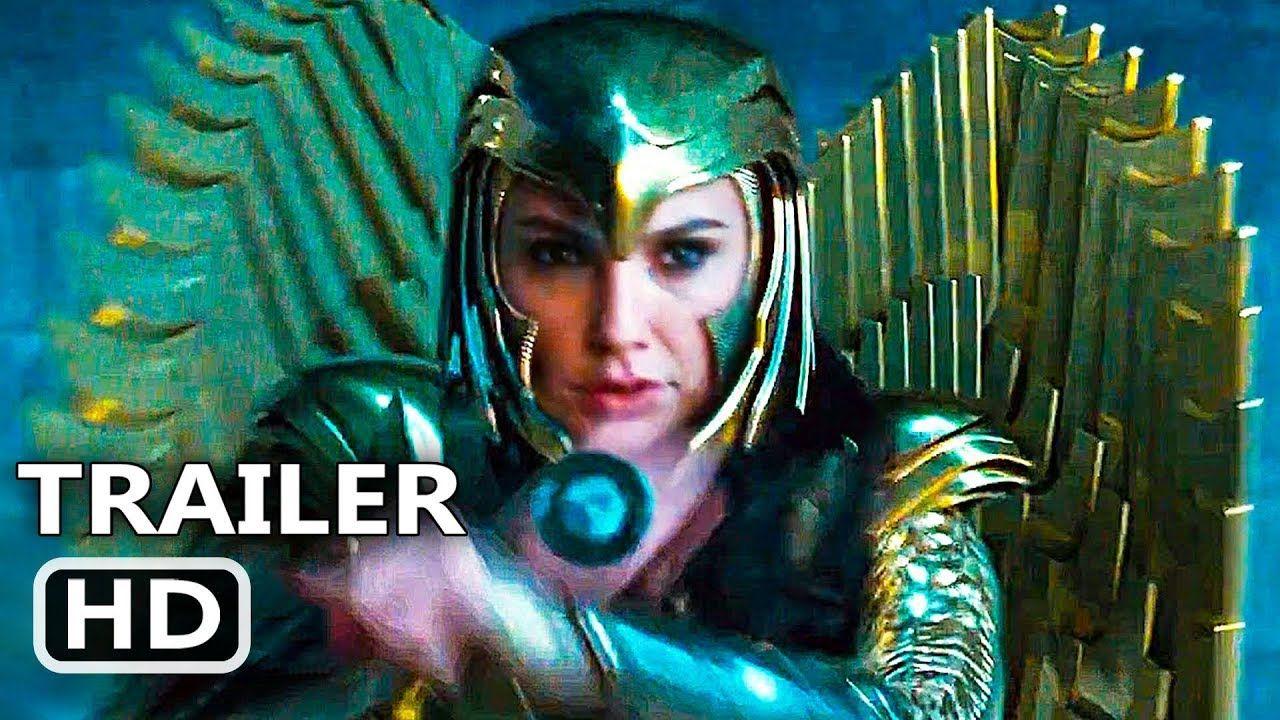 Wonder Woman 2 Official Trailer New 2020 Gal Gadot Wonder Woman 1984 Superhero Movie Hd Youtube Wonder Woman Movie Best Movie Trailers Superhero Movies