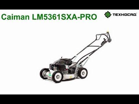 газонокосилка бензиновая Caiman Lm5361sxa Pro