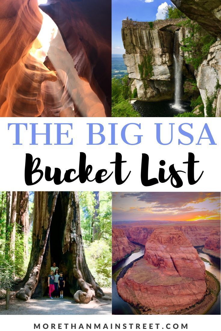Dreaming of your next adventure? Get inspired with our Ultimate USA Bucket List: 25 Epic Adventures to Experience in the USA! Fun road trips, exciting things to do, beautiful cities, National Parks, and amazing places to visit throughout the United States. Which travel destination will you choose to check off your US bucket list first? #US #USA #travel #traveldestinations #bucketlist  #USAtravel