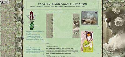 Elegia's Background Garden: 3 Column: Lonely Garden