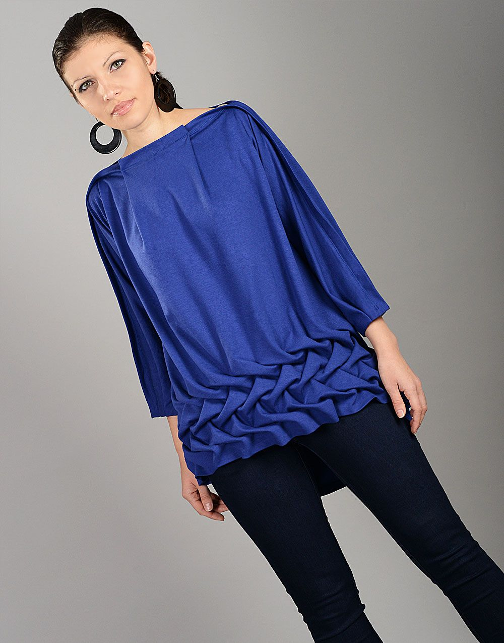 f9c6826e98045 Cobalt Blue Top