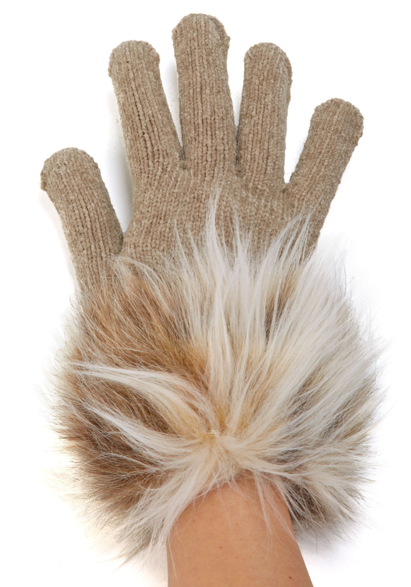 81b64f337644 Faux fur trimmed gloves in all colors - Bridesmaid gift perhaps   29 ...