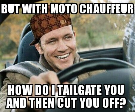 You don't #scumbagdriver, that's the point. #driverless
