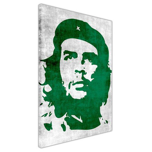 East Urban Home Leinwandbild Che Guevara, Memorabilien in Grün | Wayfair.de
