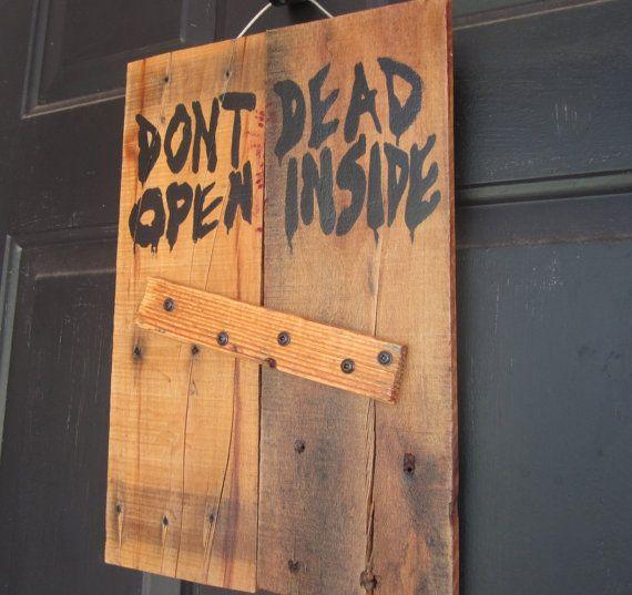 Halloween Wedding Gift Ideas: Walking Dead Decorating Ideas - Yahoo Search Results