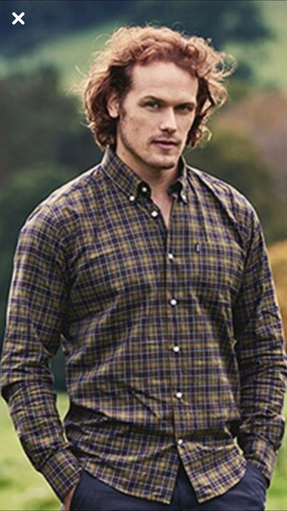 new collection crazy price 50% off Sam Heughan in Barbour in 2019 | Sam hueghan, Sam heugan ...