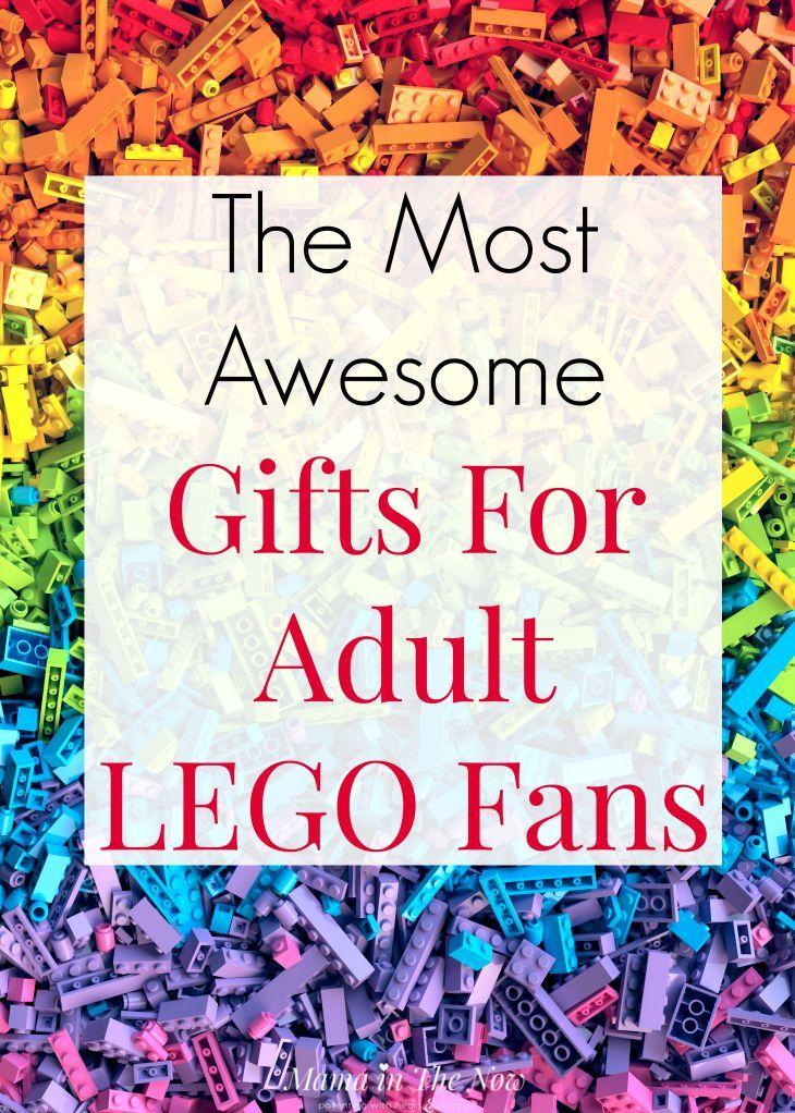 Los regalos más impresionantes para los fanáticos adultos de LEGOadultos