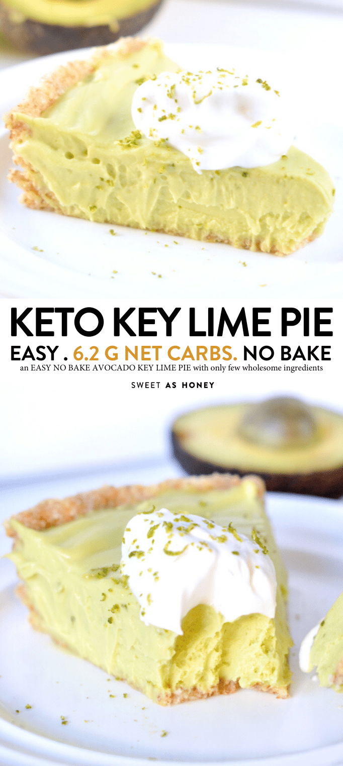 Avocado Key Lime Pie Vegan No Bake And Low Carb An Healthy Raw Desserts With A Coc Ketogenic Cookie Recipes Low Carb Recipes Dessert Low Carbohydrate Recipes