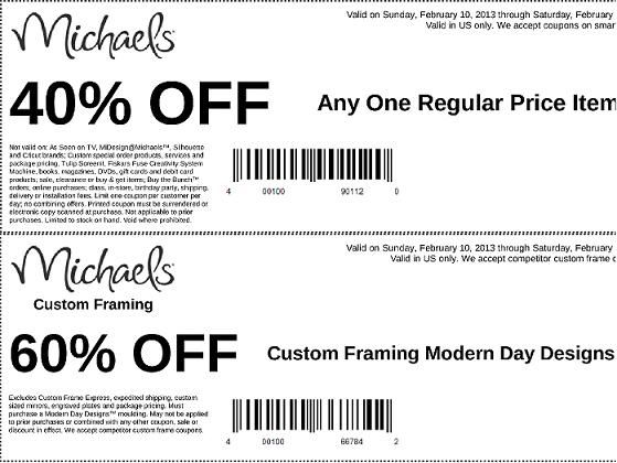Michaels weekly coupons   Coupons & Sales   Pinterest   Coupon and ...