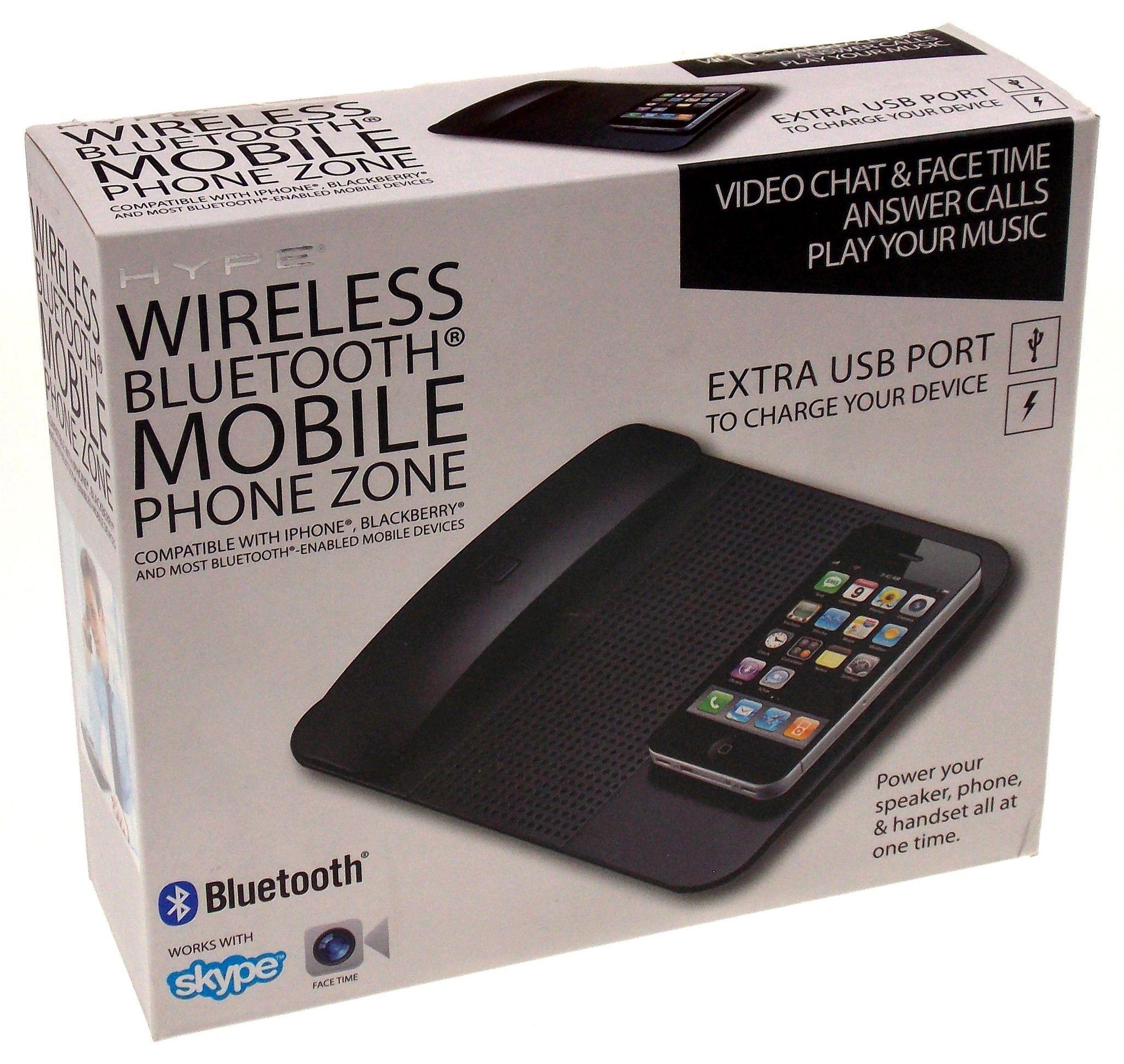 Hype Wireless Bluetooth Mobile Phone Zone Speaker Handset