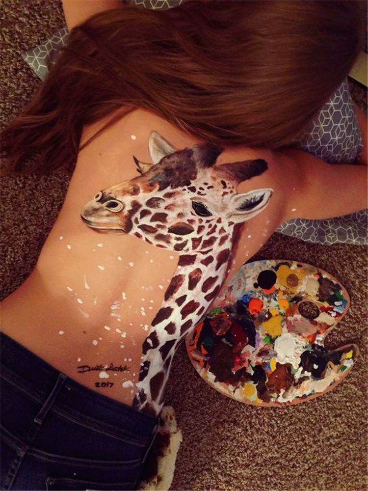 Bold Body Painting Art Ideas To Try; Body Paining Art; Women Body Paining; Body …