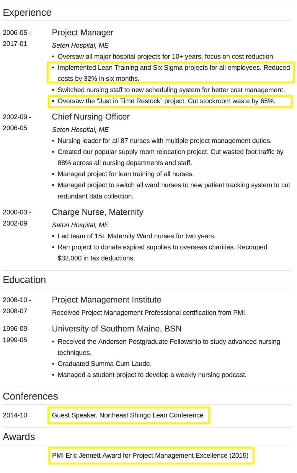 Resume Format Qualifications Resume summary statement
