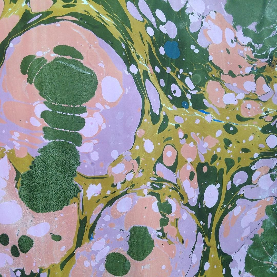 This weekend I went to another one of @marblematter and @asrosenvinge marble workshops with ebru technics. This time I learned how to do marbling on paper. So amazing ! This is part of one of the the prettiest I made.  #marbling #marble #marblep This weekend I went to another one of @marblematter and @asrosenvinge marble workshops with ebru technics. This time I learned how to do marbling on paper. So amazing ! This is part of one of the the prettiest I made.  #marbling #marble #marblepaper…