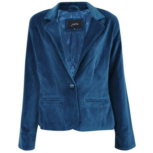 5348c30fad Blazer Veludo Azul Veludo Azul