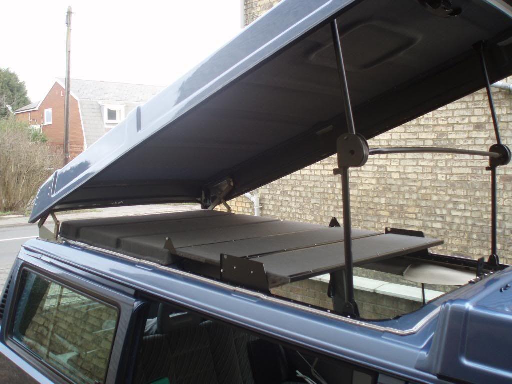 Ianspup S Image Kombi Camper Truck Camper Roof Tent