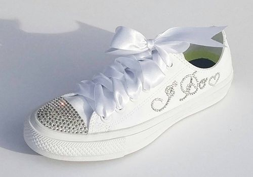 Image result for bridal sneakers