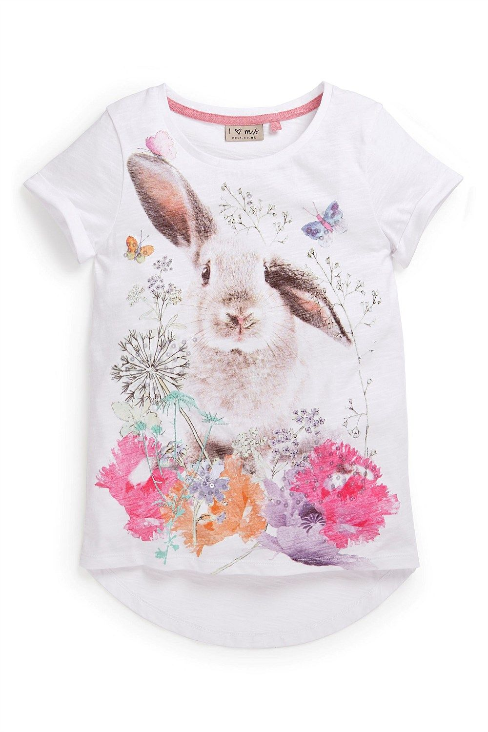 Kid s Clothing - Kidswear and Clothes for Children - Next Pretty Bunny Tee  (3-16yrs) - EziBuy New Zealand b93870fc788