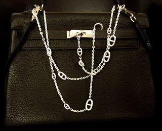 MaiTai's Picture Book: 'Farandole' silver necklace, 120cm