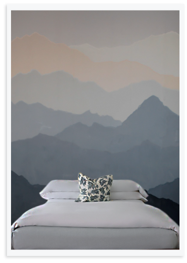 Create an easy diy mountain mural tips on getting for Diy mountain mural