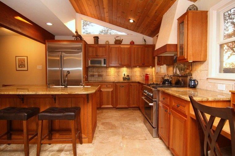 Techos de madera estilo rústico | muebles Madera | Pinterest ...